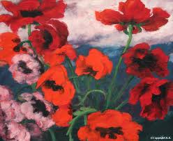 Poetry: The Red Poppy by Louise Gluck